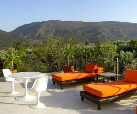 Domaine de Malika roof terrace