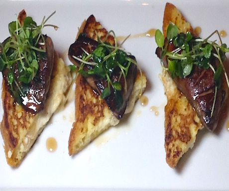Foie Gras French Toast at Embers