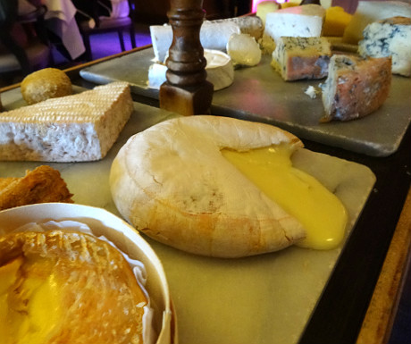 Isle of Eriska Hotel cheeseboard