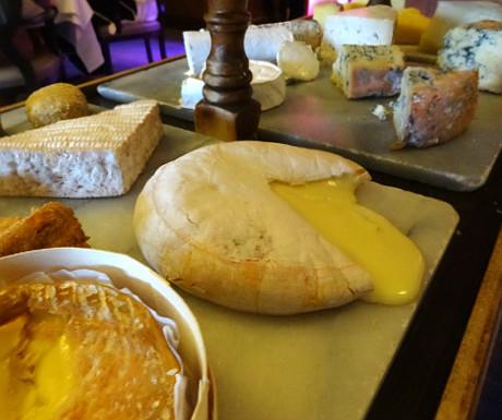 Isle of Eriska Hotel cheeseboard