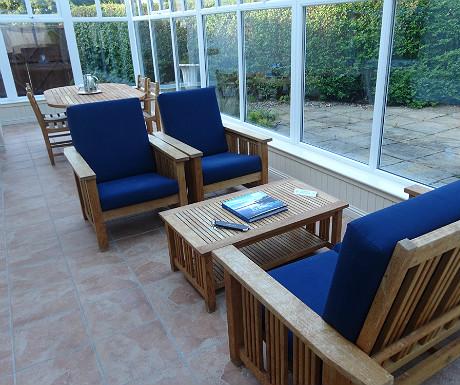 Isle of Eriska Hotel conservatory
