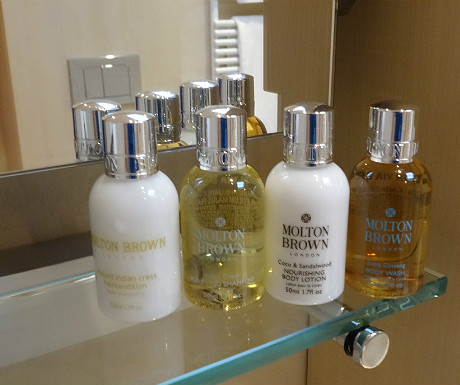 Isle of Eriska Hotel toiletries