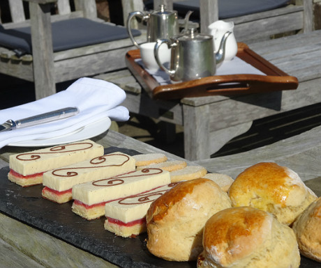 Isle of Eriska afternoon tea