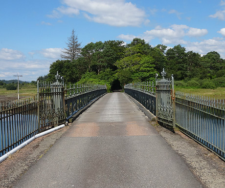 Isle of Eriska bridge