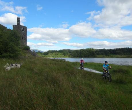 Kilchurn Castle exterior
