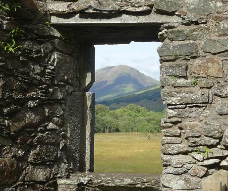 Kilchurn Castle view