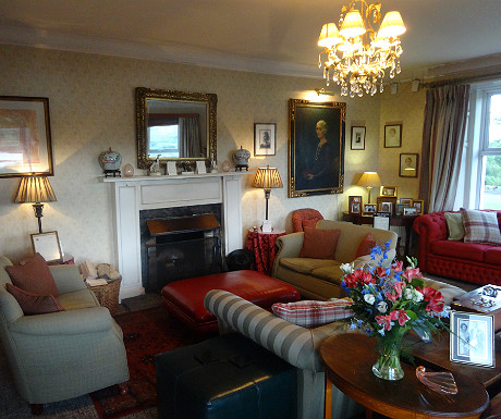 Kinloch Lodge drawing room