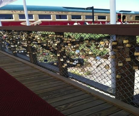 Love Lock Bridge