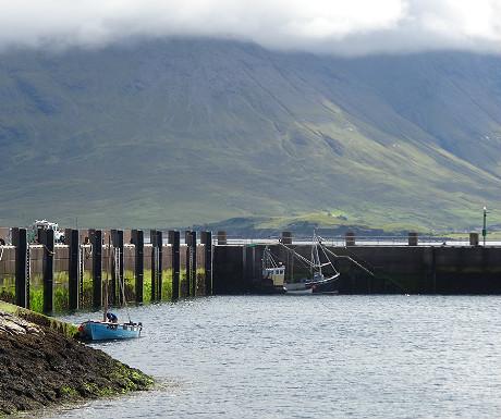 Raasay harbour