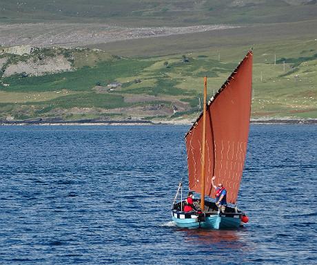 Raasay sailing boat