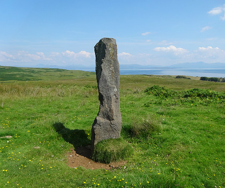 Standing stone on Eigg