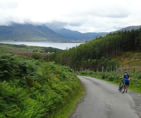 Uphill on Raasay