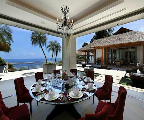 Villas not hotels