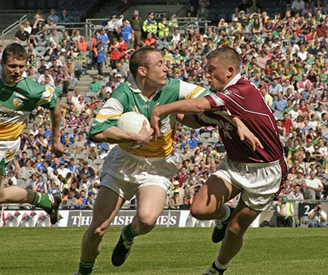 GAA Gaelic Games Offaly and Westmeath play in the Leinster football championship, Croke Park, Dublin