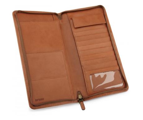Hartmann Belting Leather Zip Travel Organizer