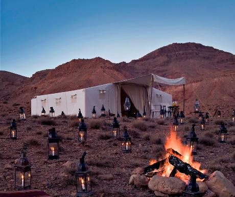 Dar Ahlam wild camping