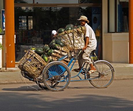 Delivery in Saigon