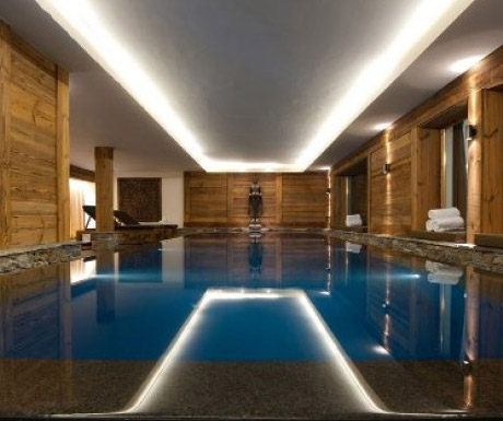 Chalet Dent Blanche pool