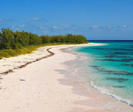 Endless white sandy beaches