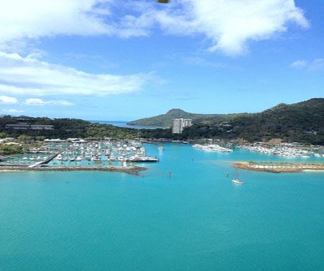 Hamilton Island - from the air
