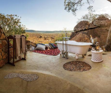 Honeymoon bath lodge