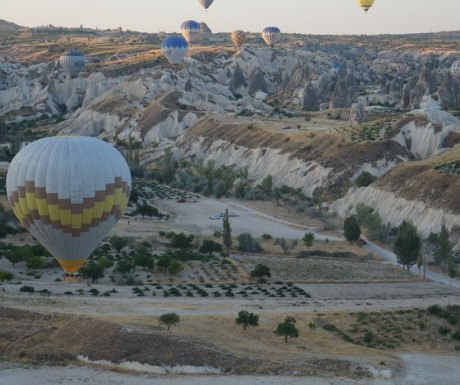 Hot air balloon, Turkey