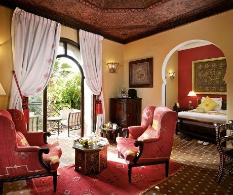 Kasbah Tamadot suite