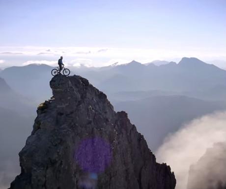 Mountain biking on the Isle of Skye