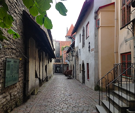 Old Town cobblestone streets