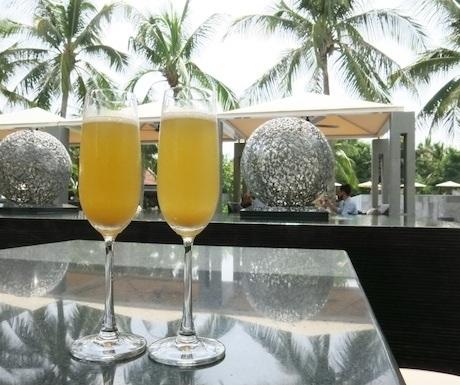 Nam Hai - Champagne Cocktails