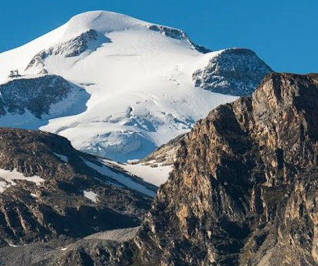 Ski terrain in Tignes