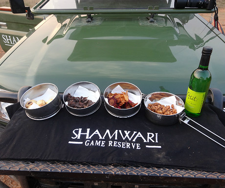 Sundowners at Shamwari