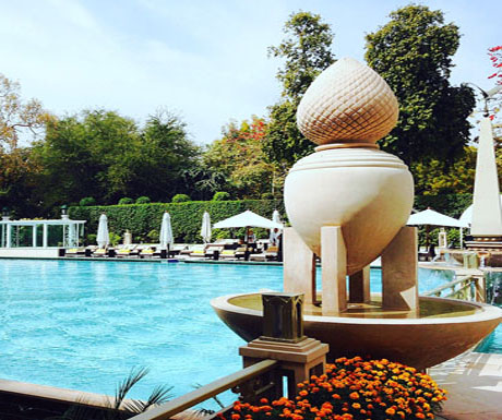 The Imperial Hotel pool