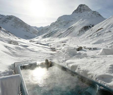 Luxury ski traveller's diary