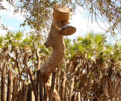 Tree House Beho shower