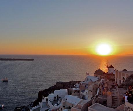 6. Watch the Oia sunset