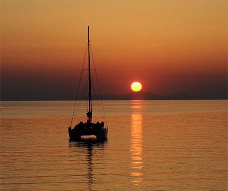 8. Spend a day cruising the Aegean Sea