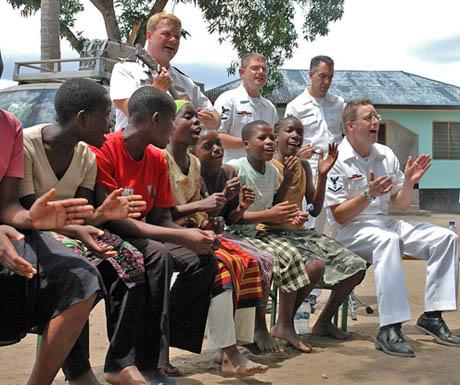 Children at Yatima Group Orphanage