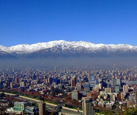 Chile cityscape