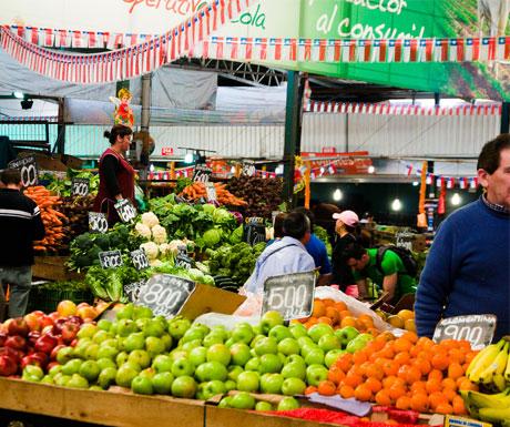 Chile market place