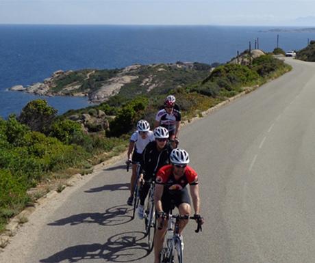 Corsica cycling