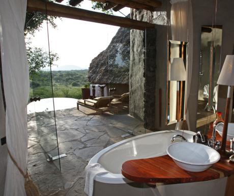 Ol Donyo Lodge, Chyulu Hills, Southern Kenya
