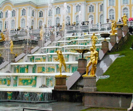Peterhof Staircase Fountain
