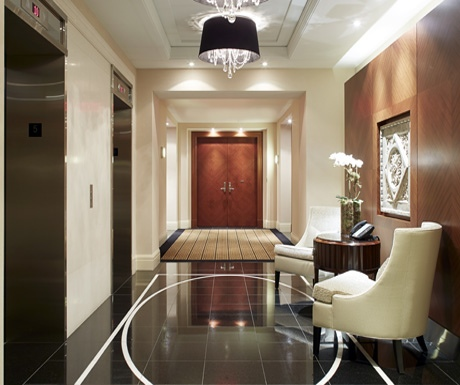 Ritz Residences lobby