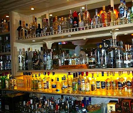 Sampling at the Russian Vodka Museum