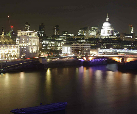 View from OXO Tower