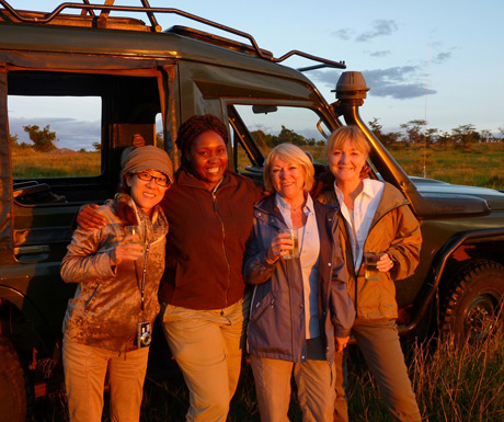 Women on safari
