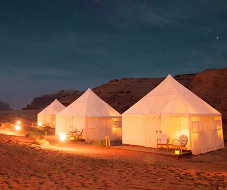 Wadi rum Desert Camp, Jordan
