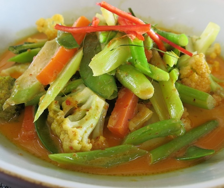 Sri Panwa penang curry