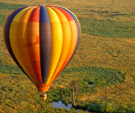 Ballooning in the Serengeti